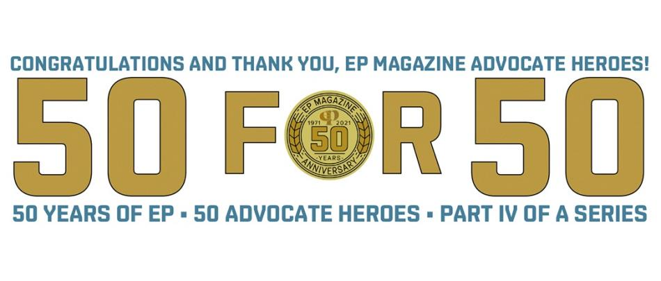50 for 50 Part IV: Congratulations and Thank You, EP Magazine Advocate Heroes!